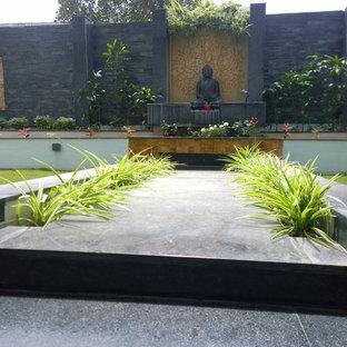 Foto på en orientalisk trädgård