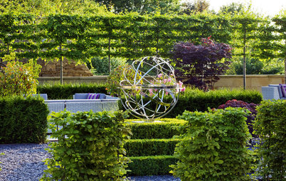 Bring on the Garden Bling With Artful Stainless Steel