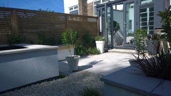 Art Deco House and Garden in Headingley, Leeds