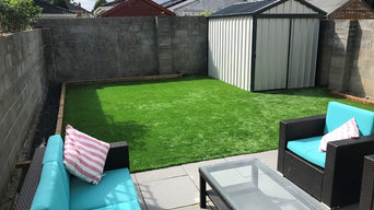 Artificial Grass Garden in Clonee, County Meath