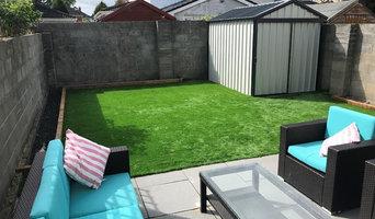 Artificial Grass Garden in Clonee, County Meath