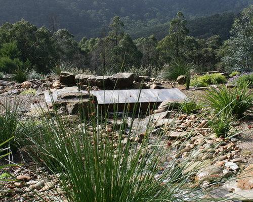 Point D Eau Jardin extérieur avec un point d'eau geelong : photos et idées déco d