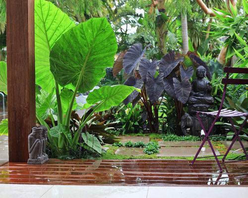 Balinese garden design houzz for Bali landscape design