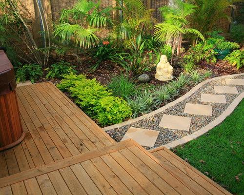 Balinese garden design houzz for Bali garden designs