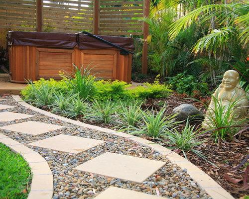 Balinese garden design houzz for Bali garden designs pictures