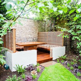 ロンドンのコンテンポラリースタイルのおしゃれな庭の写真