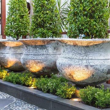 Bardon - Front entry garden