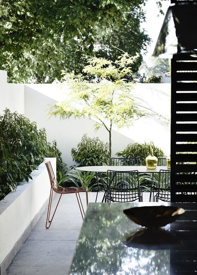 Contemporary Garden by Rob Mills Architecture & Interiors