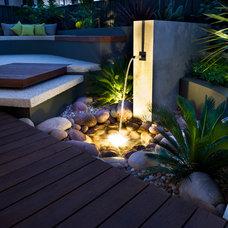 Contemporary Patio by Cultivart Landscape Design