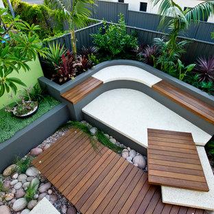 Jardin contemporain avec un bassin : Photos et idées déco de jardins