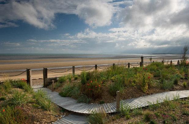 Beach Style Landscape by Jo Thompson Landscape & Garden Design