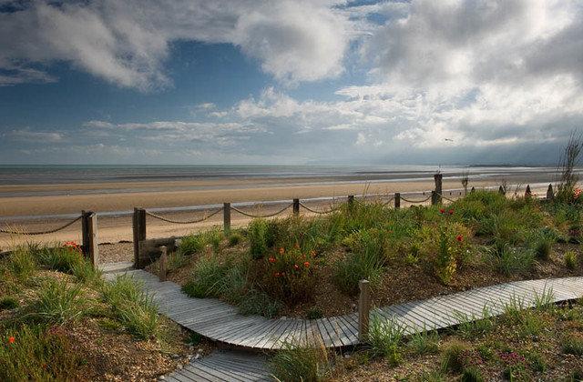 пляж стиль пейзаж Джо Томпсон дизайн сада