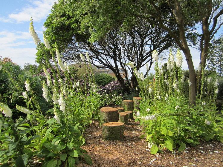 Rustic Landscape by Helen Rose Wilson Garden Design