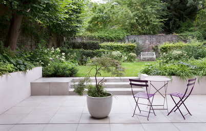 Garden Tour: A Beautiful Walled Garden with a Hidden Seating Spot