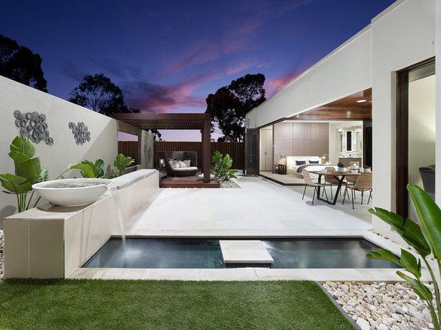 Contemporary Landscape by BLADE Landscape Design
