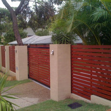 Modern Landscape by Award Gates and Screens