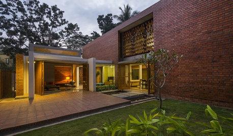 Houzz Индия: Дом с неожиданным фасадом