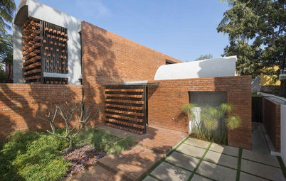 Houzz Tour: This Mysore Home is a Unique Exploration in Brickwork