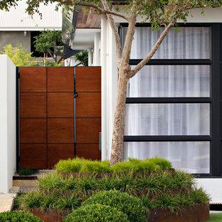 Новый формат декора квартиры: участок и сад на боковом дворе в восточном стиле