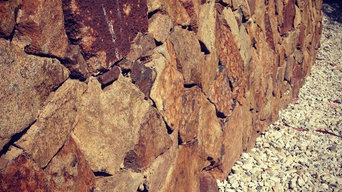 Bush Rock Wall