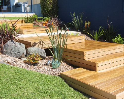 Backyard Landscaping Newcastle : Beach style newcastle maitland outdoor design ideas