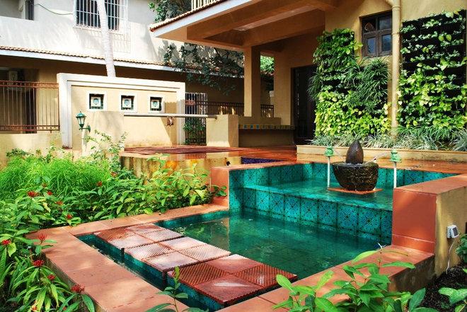 Mediterranean Garden by Layers Studios for Design & Architecture