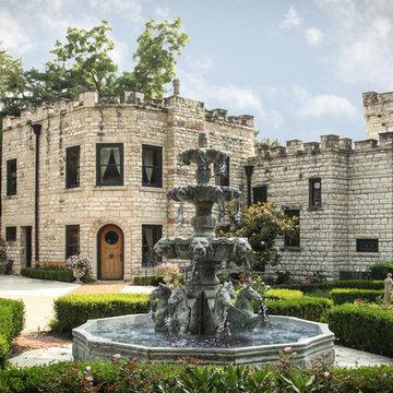 Castle Gardens & Water Fountain