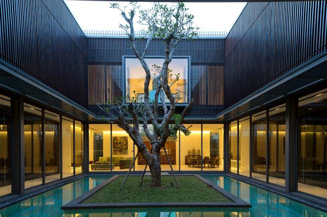 Contemporary Garden by Wallflower Architecture + Design