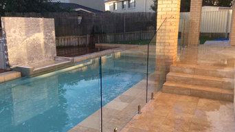 Cherrybrook Frameless Glass Pool Fence