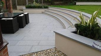 Cheshire contemporary garden