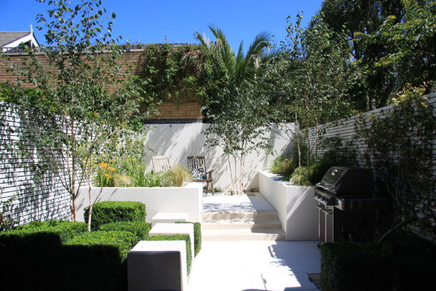 Contemporary Garden by Ruth Willmott Associates