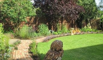 Circular country garden design
