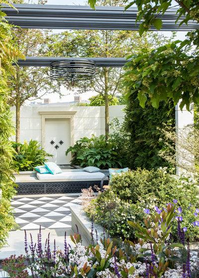 Mediterranean Garden by Chris Snook