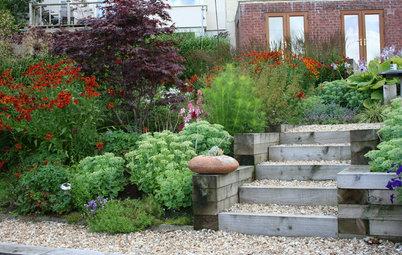 Stufen ins Grüne: Tipps und Gestaltungsideen für Gartentreppen
