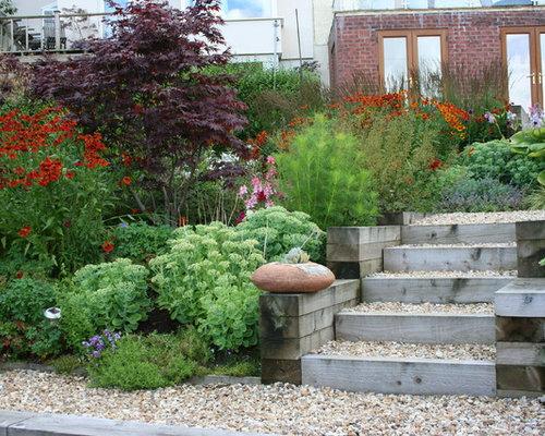 Coastal Garden Home Design Ideas Pictures Remodel and Decor