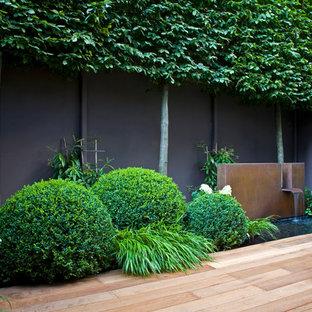 Ejemplo de jardín de estilo zen pequeño