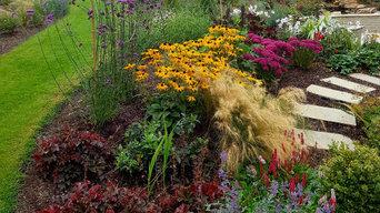 Colourful Landscape Design