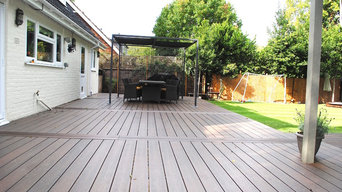 Composite Decking Project in  Surbiton, Kingston upon Thames