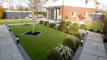 Contemporary Artificial  Lawns