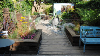 Contemporary Coastal Garden East Sussex