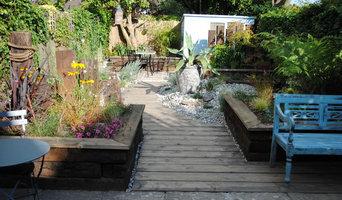 Contemporary Coastal Garden East Sussex