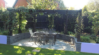 Contemporary Family Garden Design, Bracknell, Berkshire, UK