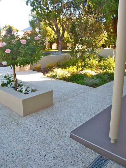 Terrazzo outdoor flooring houzz for Terrazo exterior