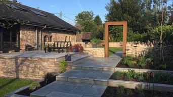 Contemporary Garden Build