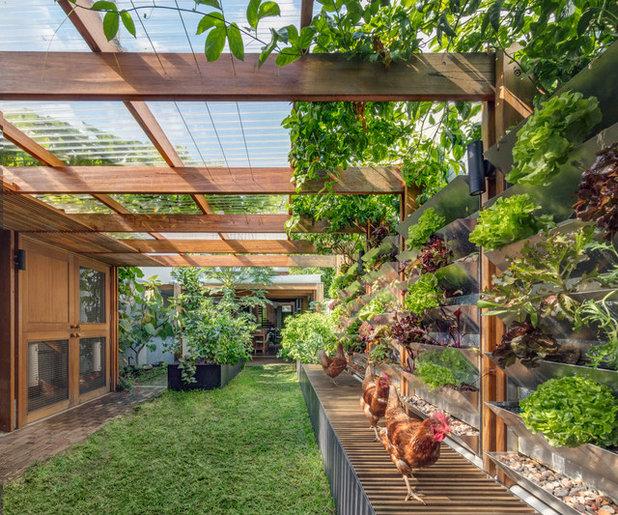 Contemporain Jardin by CplusC Architectural Workshop