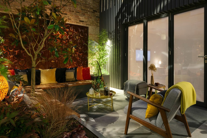 Contemporary Landscape by Georgia Lindsay Garden Design