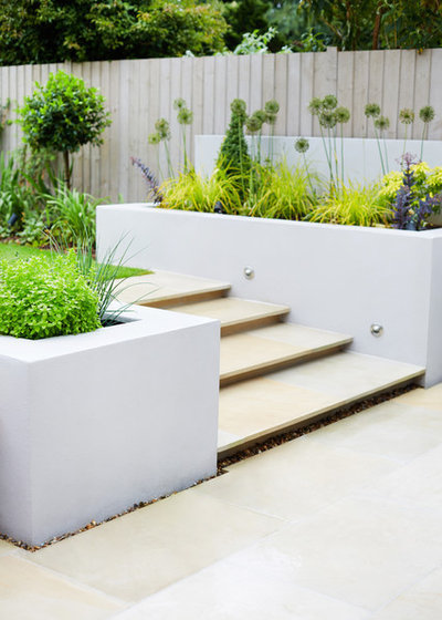 Contemporary Garden by Green Tree Garden Design Ltd