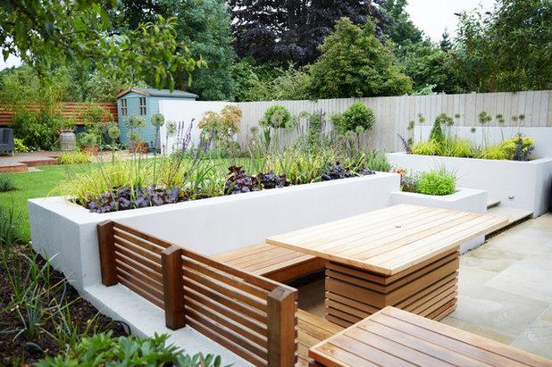 Современный Сад by Green Tree Garden Design Ltd