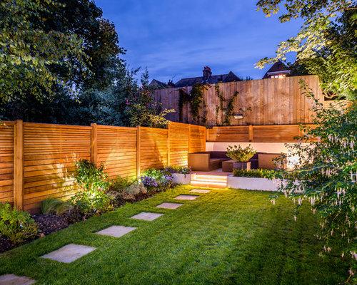 Jardin contemporain londres photos et id es d co de jardins - Idee jardin contemporain ...