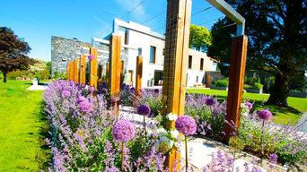 Contemporary Garden Holywood